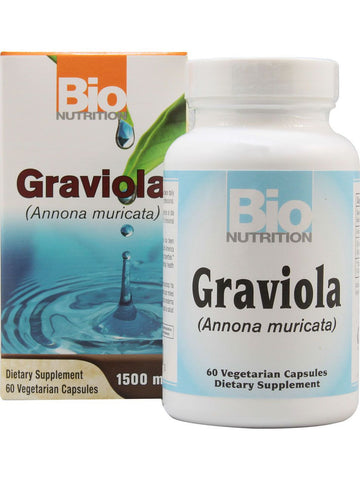 Bio Nutrition, Graviola, 60 vegicaps