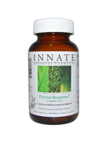 Innate Response Formulas, Thyroid Response Complete Care, 90 tabs
