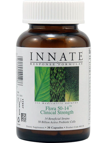 Innate Response Formulas, Flora 50-14 Clinical Strength, 30 caps