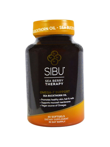 Sibu, Omega 7 Cellular Support, 60 softgels
