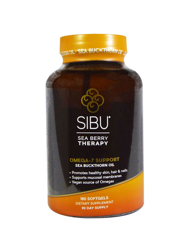 Sibu, Cellular Support with Omega 7, 180 softgels
