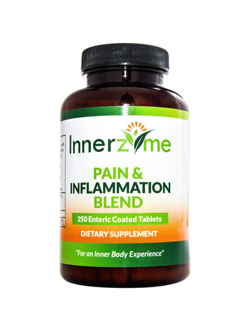 Innerzyme, Pain & Inflammation Blend, 250 tabs