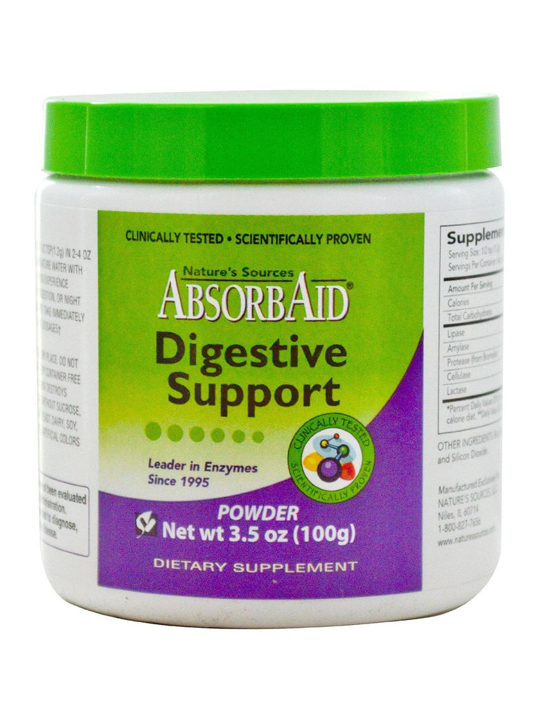 AbsorbAid Powder, 100 gm, Nature's Sources