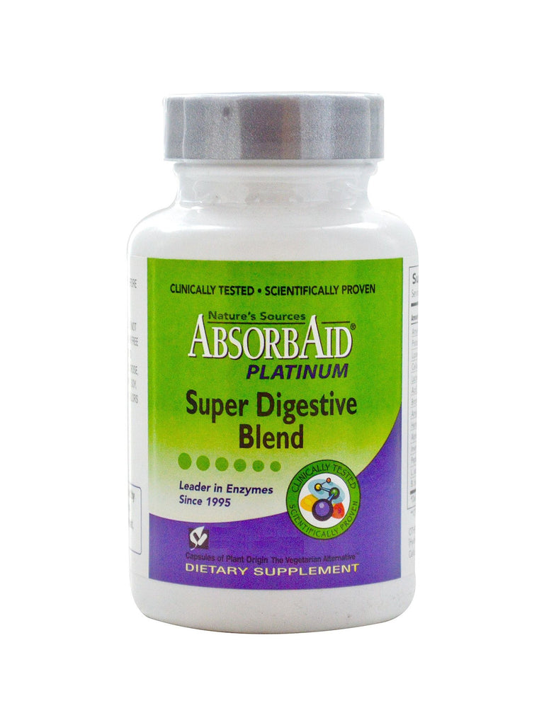 AbsorbAid Platinum, 120 vegicaps, Nature's Sources