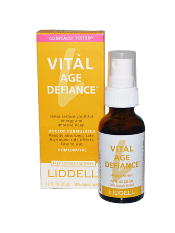 Liddell Homeopathic, Vital Age Defiance, 1 oz
