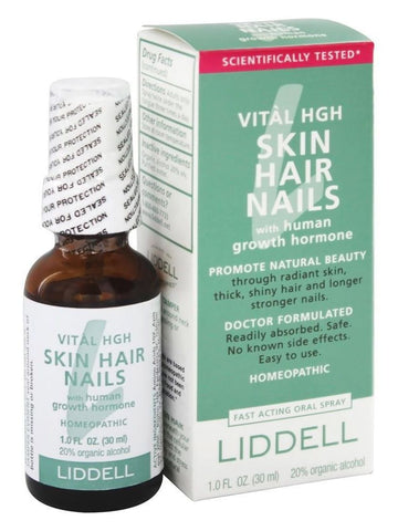 Liddell Homeopathic, Vital Skin Hair Nails, 1 oz
