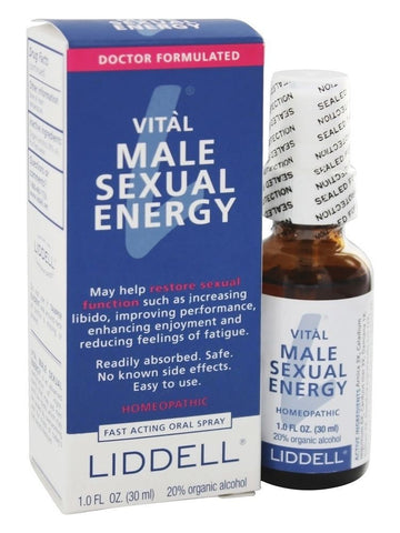 Liddell Homeopathic, Vital Male Sexual Energy, 1 oz