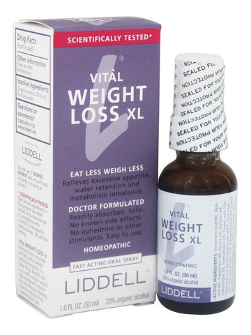 Liddell Homeopathic, Vital Weight Loss XL, 1 oz