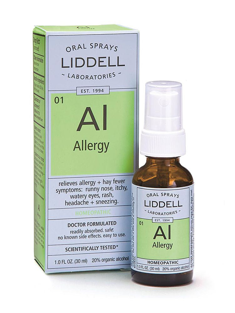 Liddell Homeopathic, Allergy Spray, 1 oz