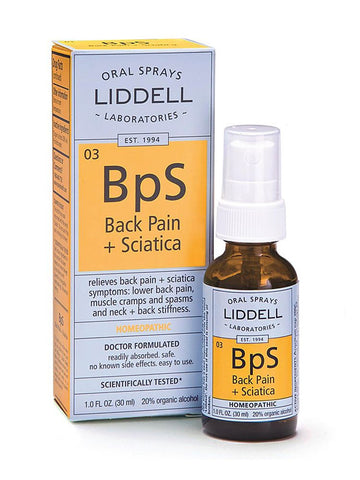 Liddell Homeopathic, Back Pain Sciatica Spray, 1 oz