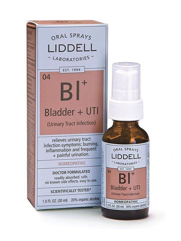 Liddell Homeopathic, Bladder UTI Spray, 1 oz