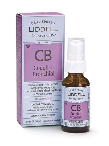 Liddell Homeopathic, Cough & Bronchial Spray, 1 oz