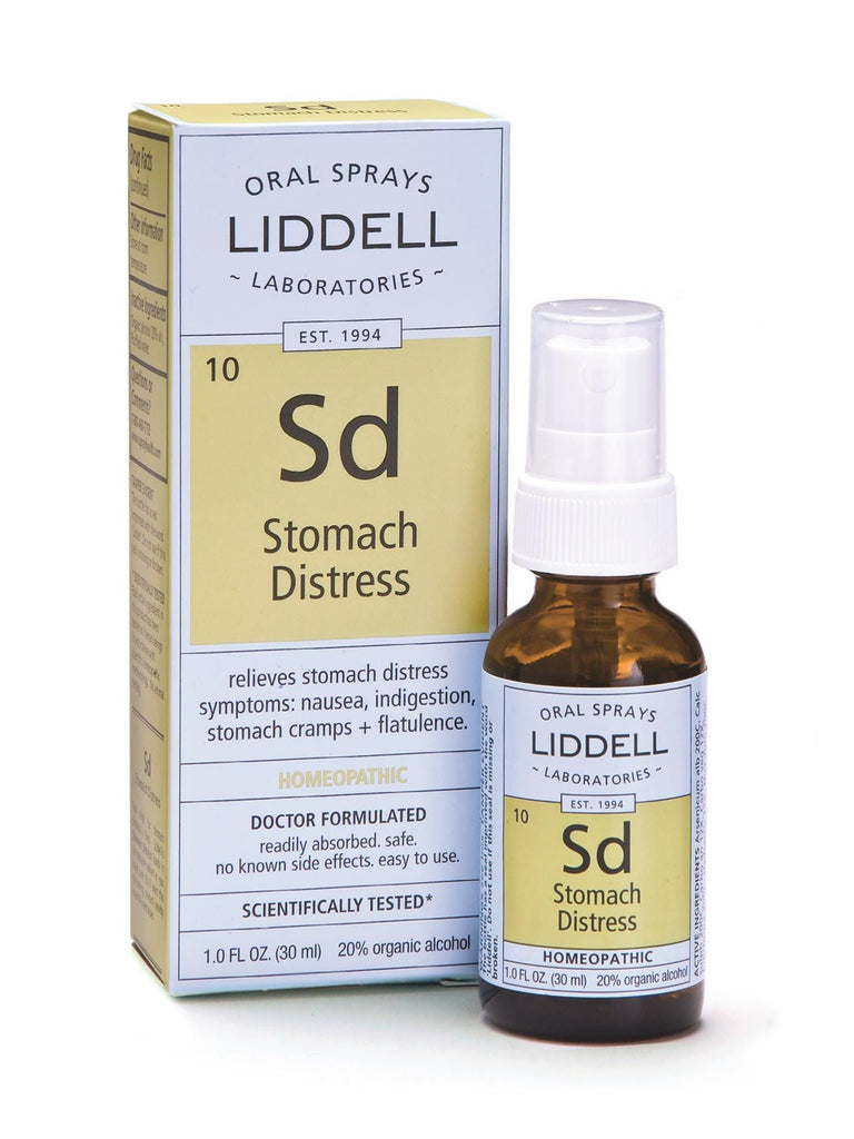 Liddell Homeopathic, Stomach Distress, 1 oz
