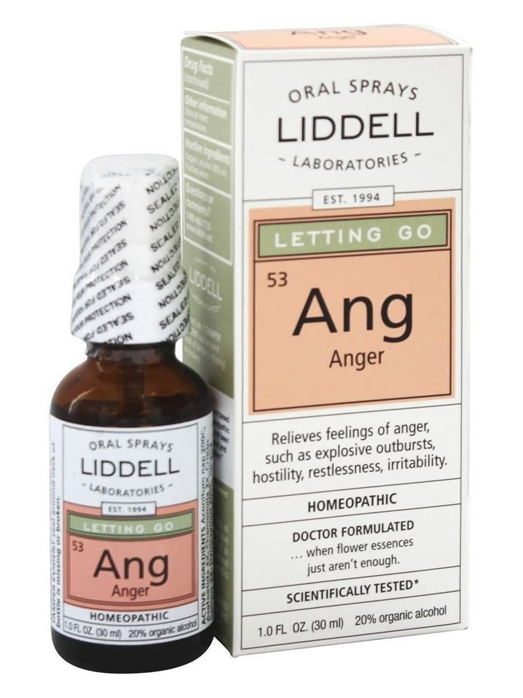Liddell Homeopathic, Letting Go-Anger, 1 oz