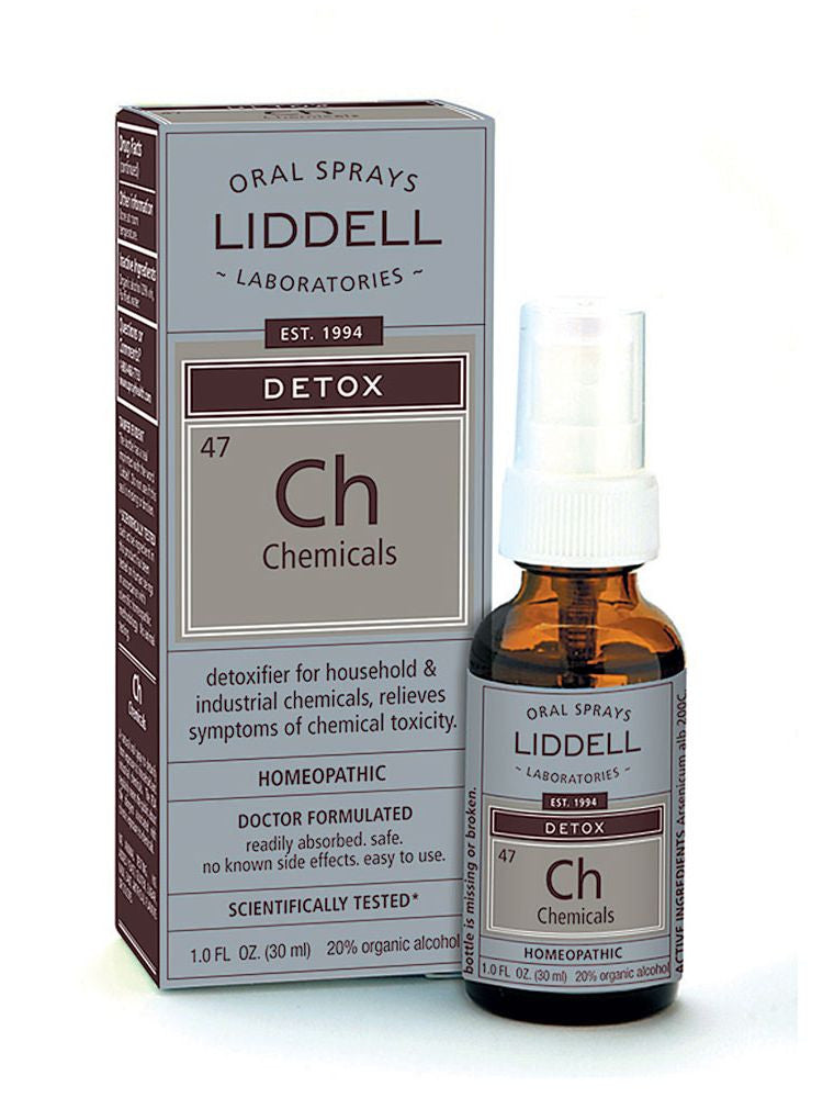 Liddell Homeopathic, Detox Chemicals, 1 oz