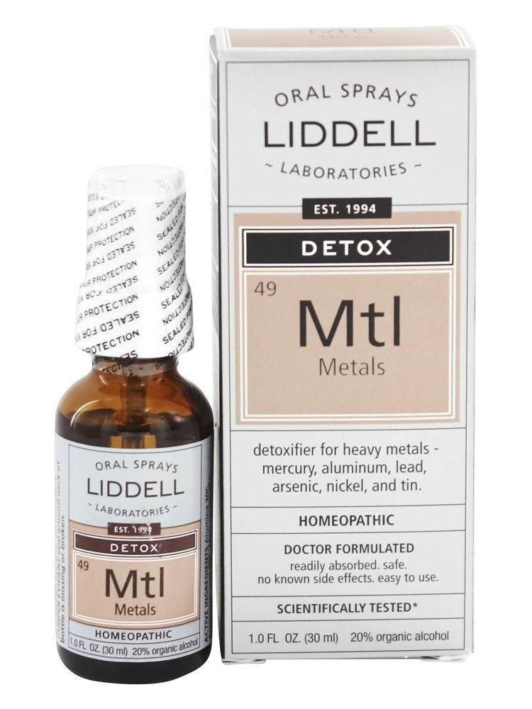 Liddell Homeopathic, Metals Detox, 1 oz