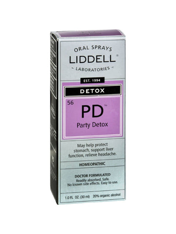 Liddell Homeopathic, Party Detox, 1 oz