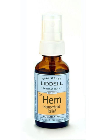 Liddell Homeopathic, Hemorrhoid Relief, 1 oz