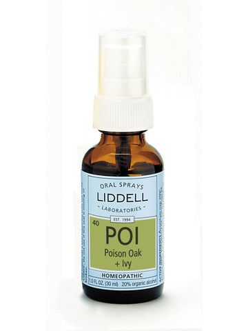 Liddell Homeopathic, Poison Oak + Ivy, 1 oz