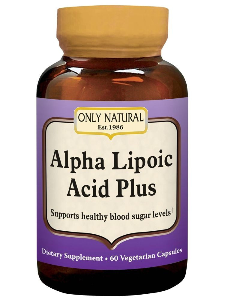 Only Natural, Alpha Lipoic Acid Plus 200mg, 60 vegicaps