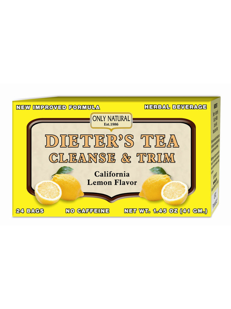 Dieter's Cleansing Tea Lemon, 24 bags, Only Natural