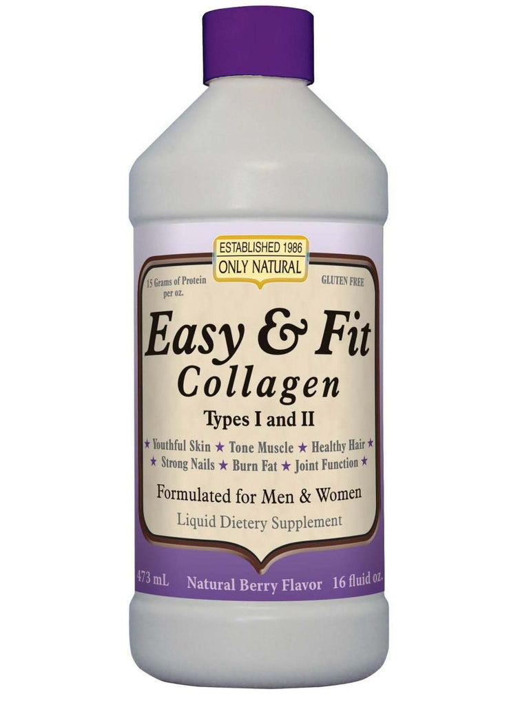 Only Natural, Easy & Fit Collagen, 16 oz