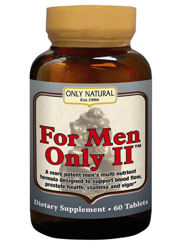 Only Natural, For Men Only II, 60 tabs