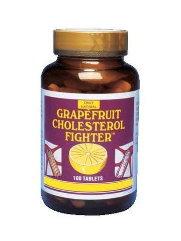 Only Natural, Grapefruit Cholesterol Fighter, 100 tabs