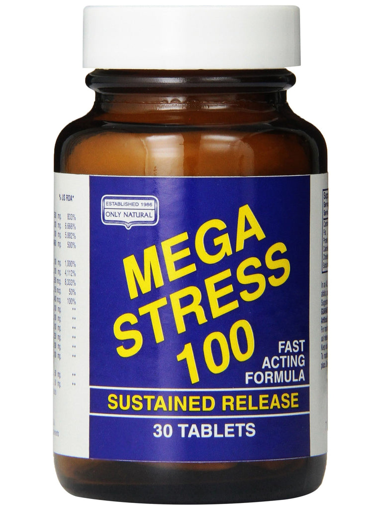 Only Natural, Mega Stress, 30 tabs