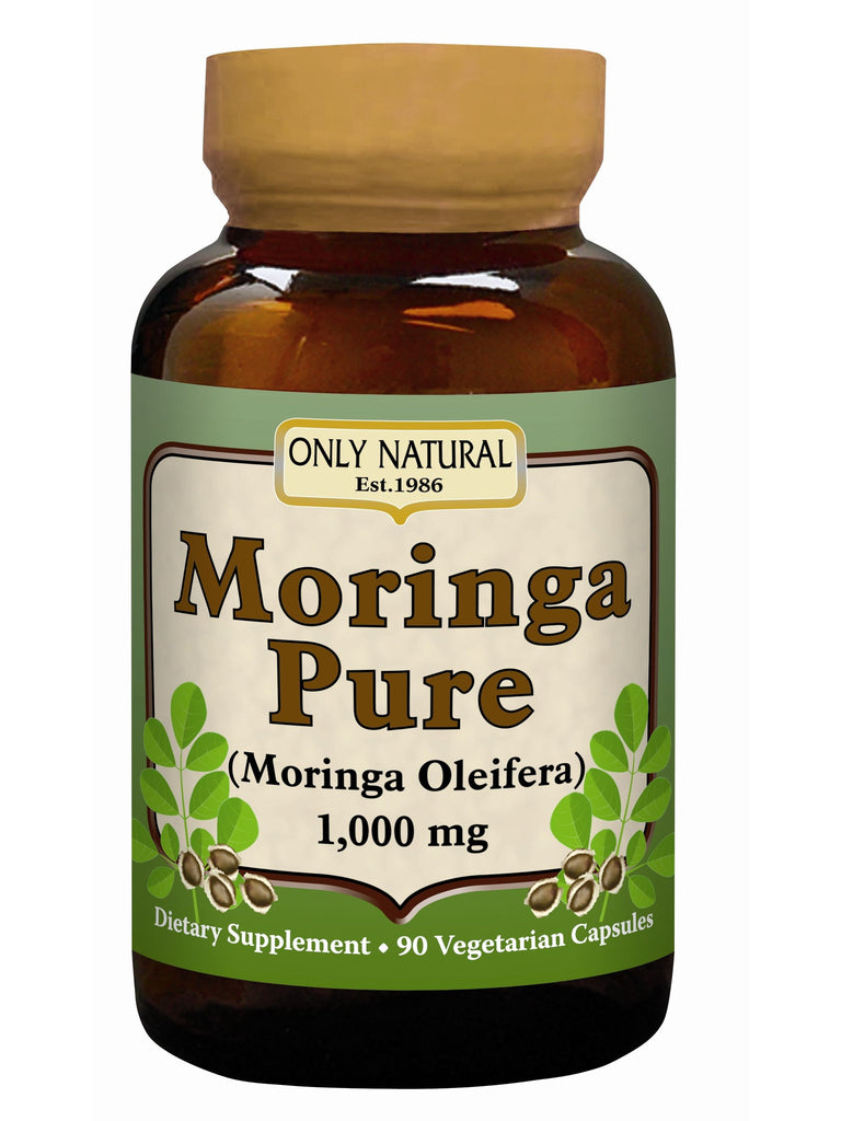 Only Natural, Moringa Pure, 90 caps