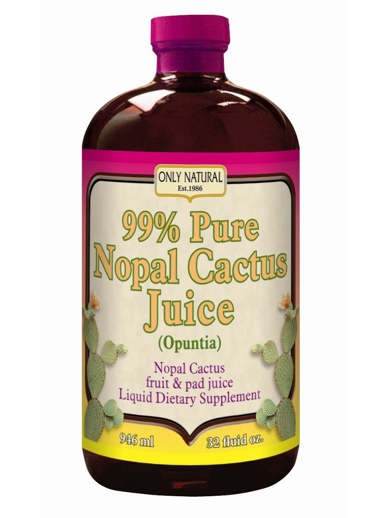 Only Natural, Nopal Cactus Juice, 32 oz