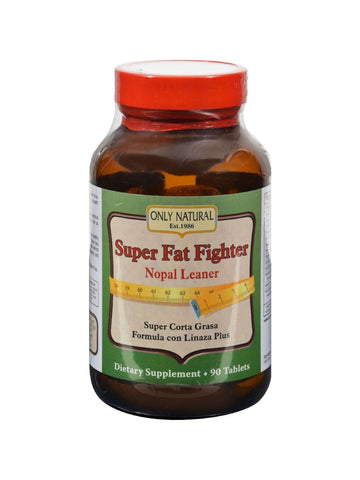 Only Natural, Super Fat Fighter (Nopal Leaner Formula), 90 tabs