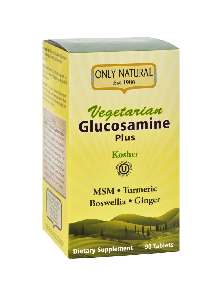 Only Natural, Vegetarian Glucosamine Plus (Kosher), 90 vegicaps
