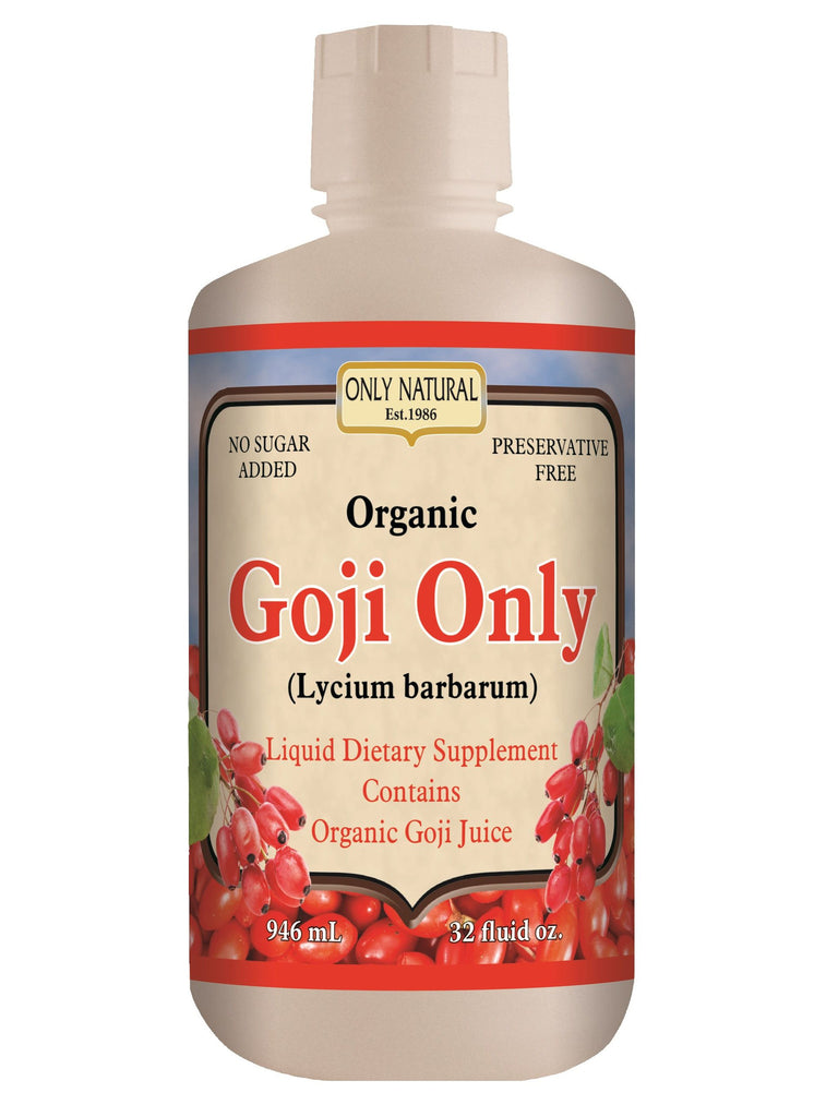 Only Natural, Goji Only Organic Juice, 32 oz