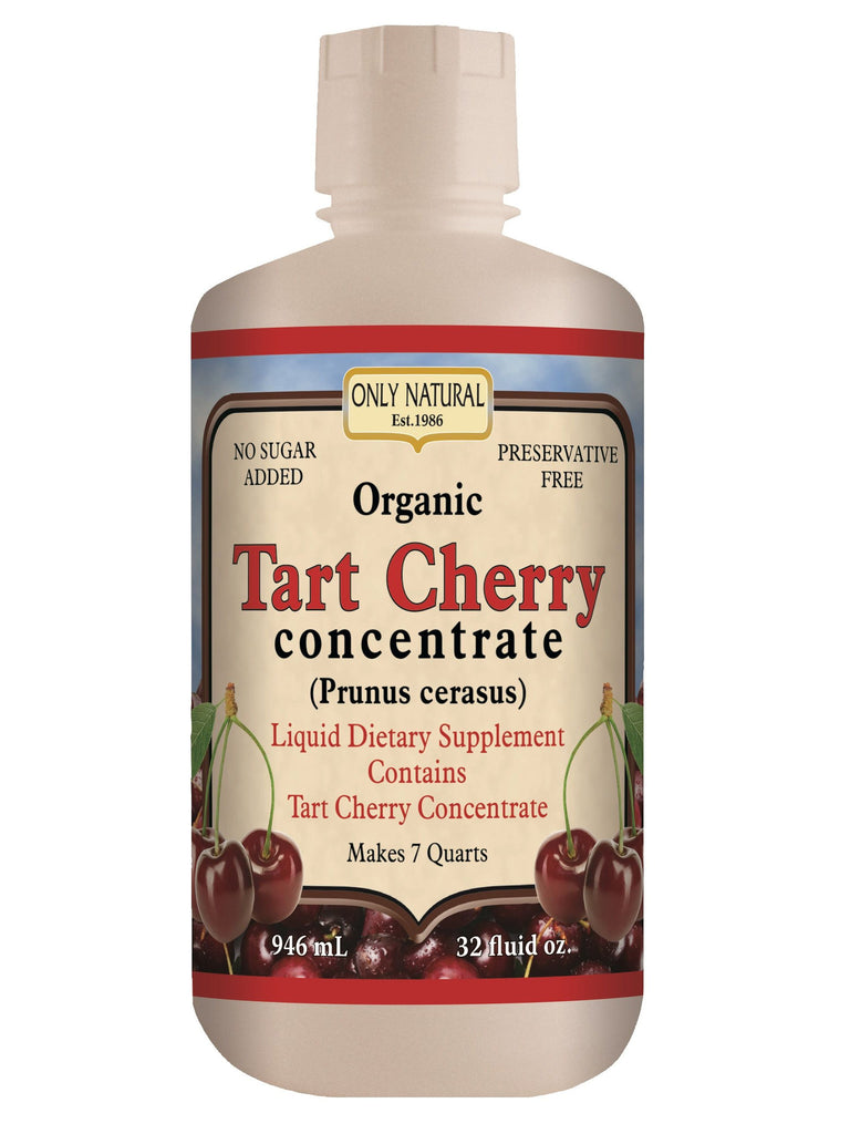 Only Natural, Tart Cherry Organic Concentrate, 32 oz