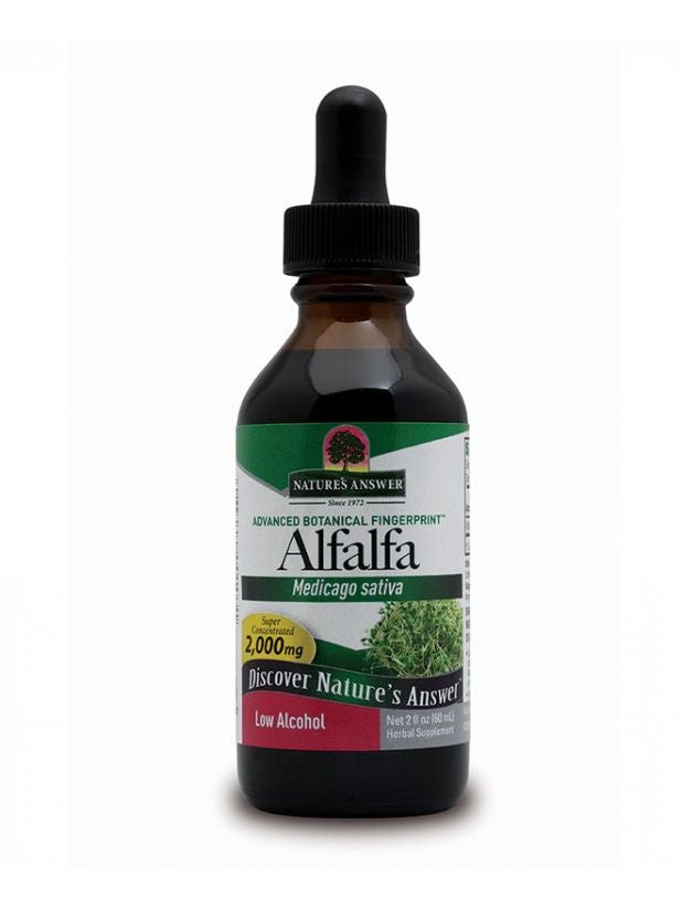 Alfalfa Herb Extract, 2 oz, Nature's Answer