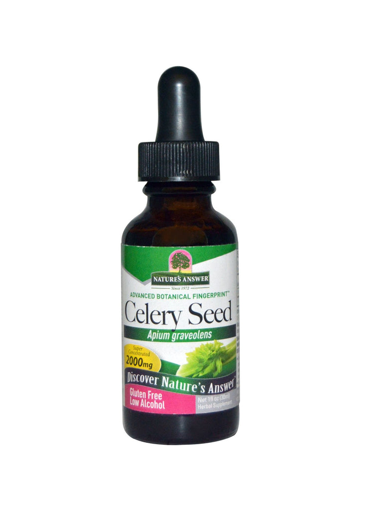 Celery Seed Extract, 1 oz, Nature's Answer