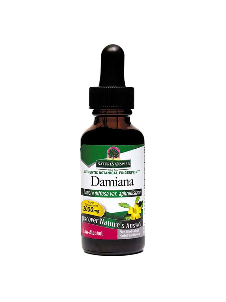 Damiana Leaf Extract, 1 oz, Nature's Answer
