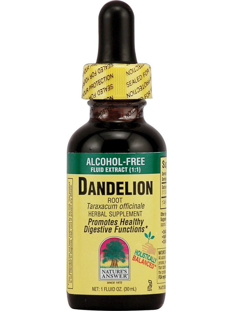 Dandelion Root Extract, 1 oz, Nature's Answer
