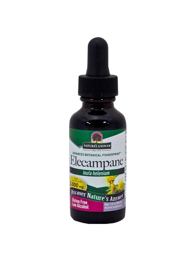 Elecampane Root Extract, 1 oz, Nature's Answer