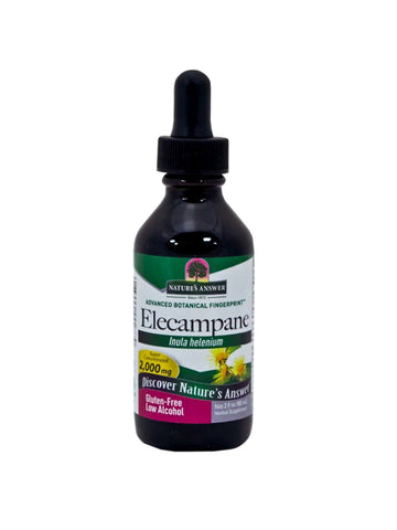 Elecampane Root Extract, 2 oz, Nature's Answer