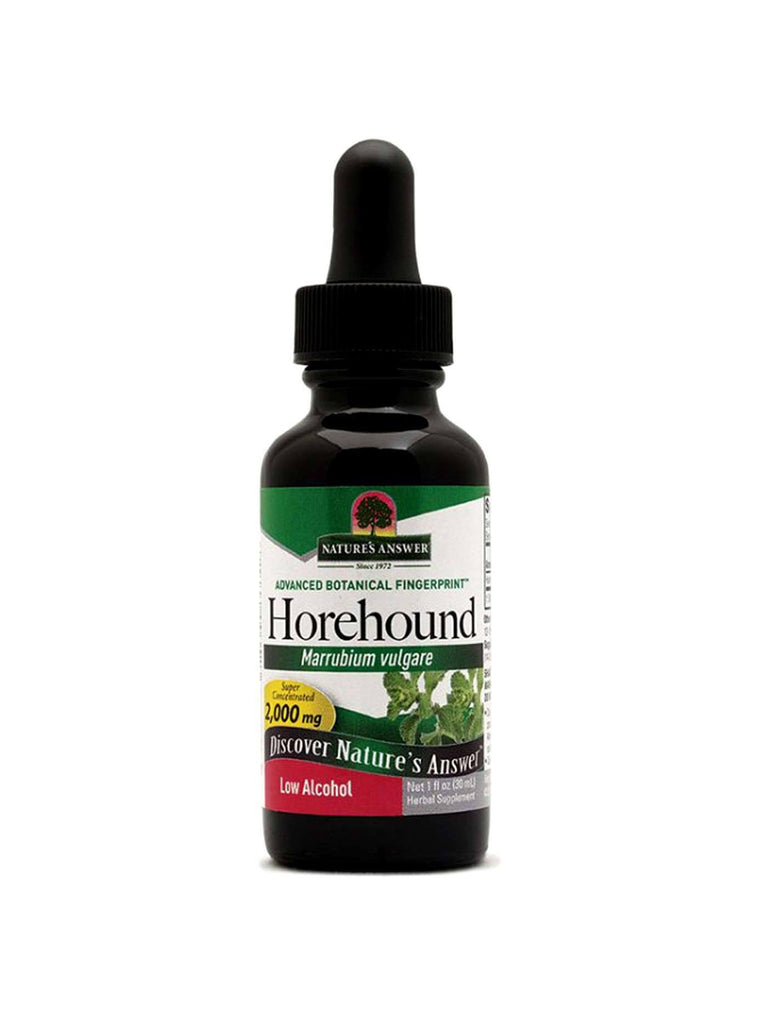 Horehound Herb Extract, 1 oz, Nature's Answer