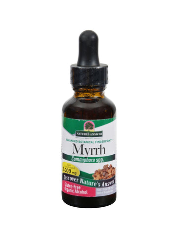 Myrrh Gum Extract, 1 oz, Nature's Answer