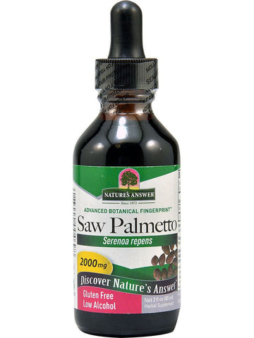 Saw Palmetto Berry Extract, 2 oz, Nature's Answer