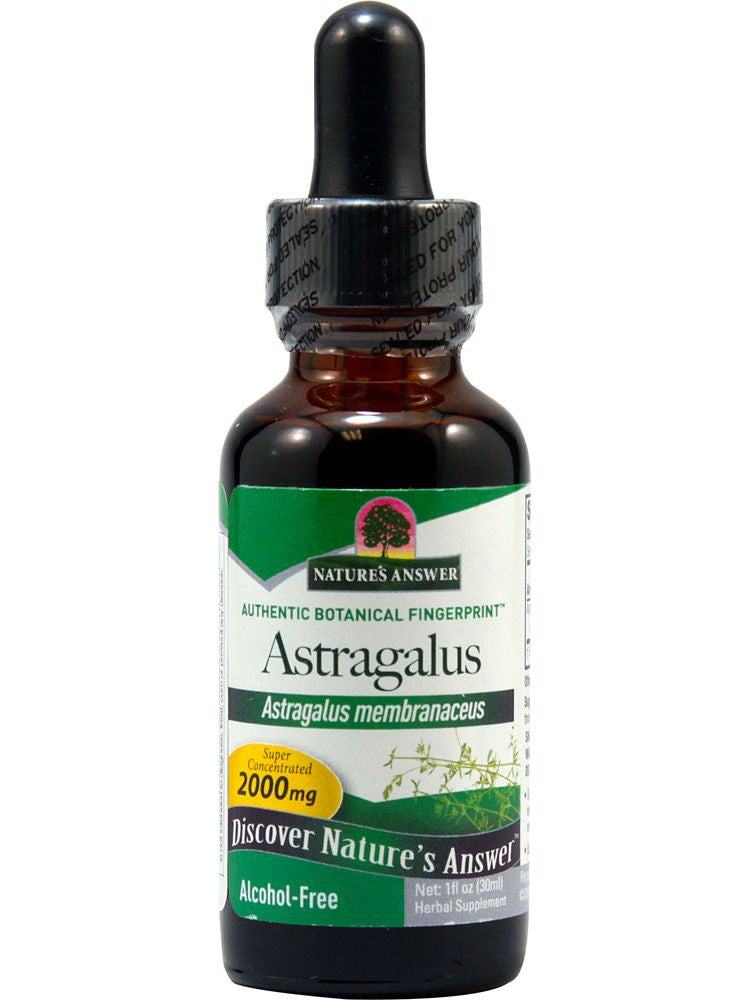 Astragalus Alcohol Free Extract, 1 oz, Nature's Answer