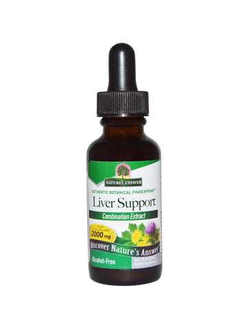 Liver Cleanse Alcohol Free, 1 oz, Nature's Answer