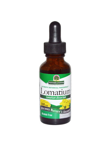 Lomatium Alcohol Free, 1 oz, Nature's Answer