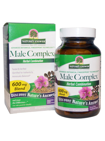 Male Complex, 90 vegicaps, Nature's Answer