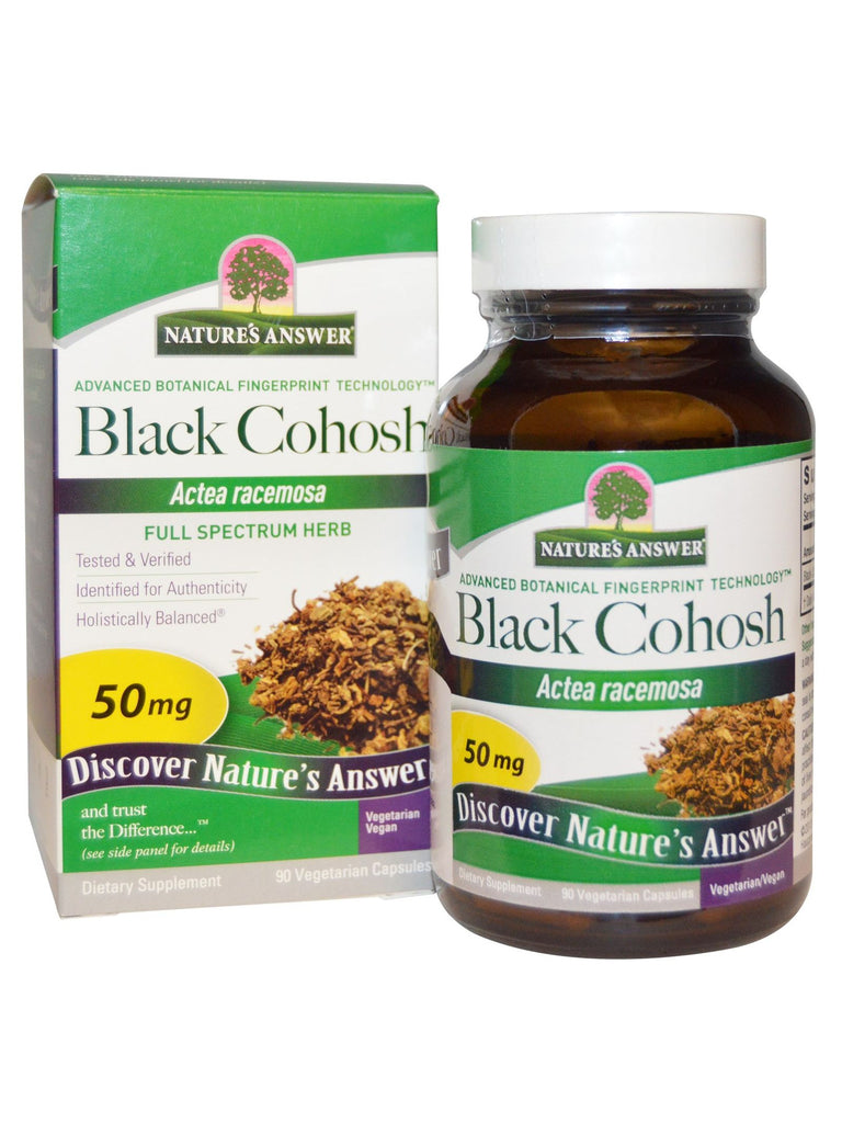 Black Cohosh Root, 90 caps, Nature's Answer
