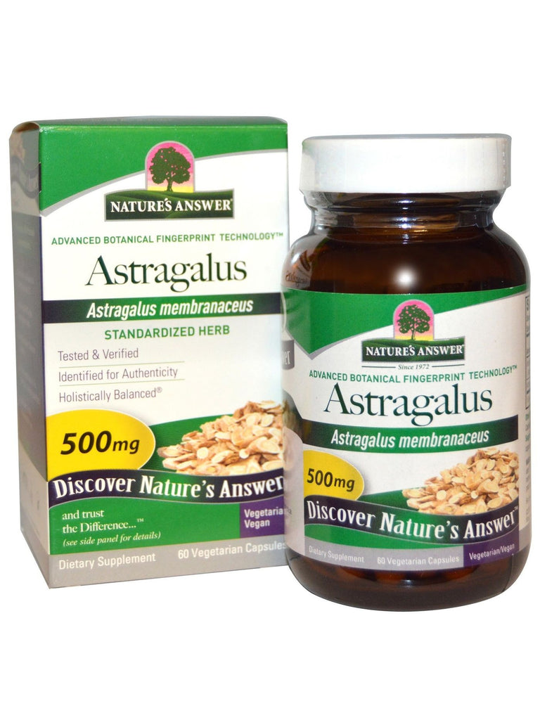 Astragalus Root Standardized, 60 vegicaps, Nature's Answer